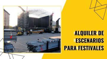 escenarios para festivales