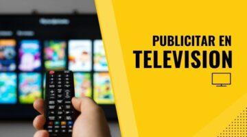 anunciar en programas de television