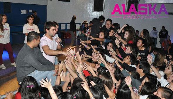 Agustin Sierra en Alaska Teen Disco, Santa Fe [Mayo 2013]
