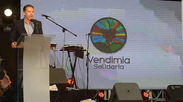 Alejandro Fantino en la Vendimia Solidaria de Mendoza