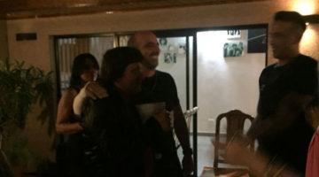 Alfredo Silva en cumpleaños de 45