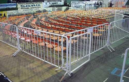 Alquiler y armado de vallados para eventos