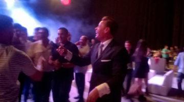 Andres Rey en fin de año del Luna Park