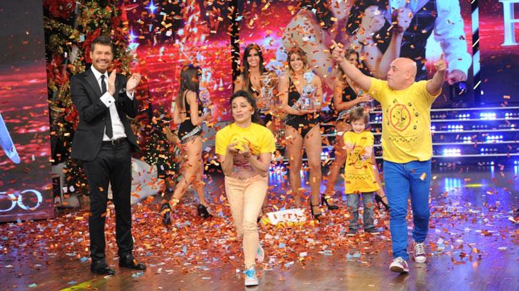 Anita Martínez y Bicho Gómez ganadores de Bailando por un Sueño 2014