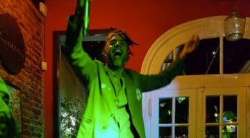 Black Dalí en el 2do aniversario de Cerveceria Prinston