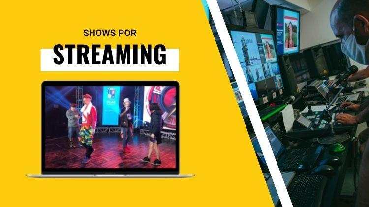 contratar shows por streaming