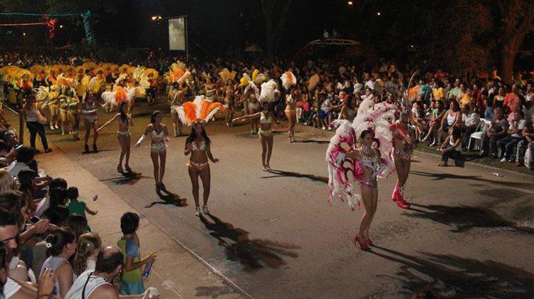 Carnavales de Río 2014 Santa Rosa de Calamuchita