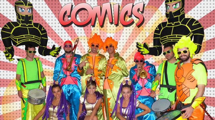 Contrataciones Batucada Comics