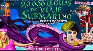 20.000 leguas de viaje submarino en 3D