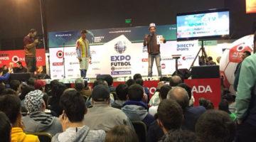 Los Rebos y Los Puntos Cardenales en Expofútbol, Uruguay