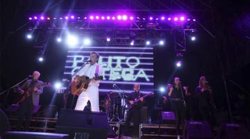 Palito Ortega en el cierre de Expo Matanza 2015