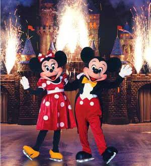 """Contratacion de Disney on Ice """"100 Años de Magia"""""""
