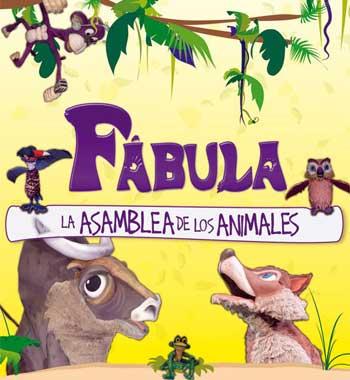 Contratacion de Fabula, la asamblea de los animales