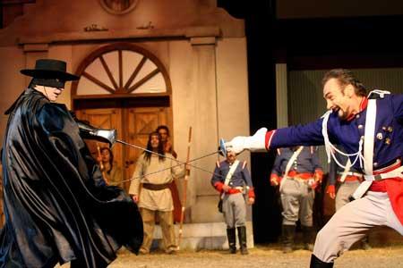 Contratacion Zorro, la Venganza de Monasterio