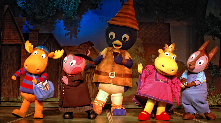 Contratar a The Backyardigans