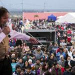 Cacho Garay en la Fiesta de las Comidas Típicas, Catamarca