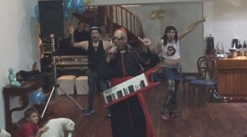 Los Rebos y la Cumbia Papal en San Isidro