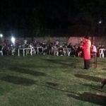 Jorge Corona en la fiesta de fin de año de STIGAS