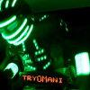 Contratar a TryOMani, el robot led de Showmatch