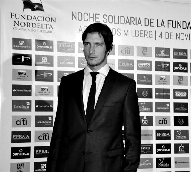 Iván de Pineda en la cena solidaria Fundación Nordelta 2014