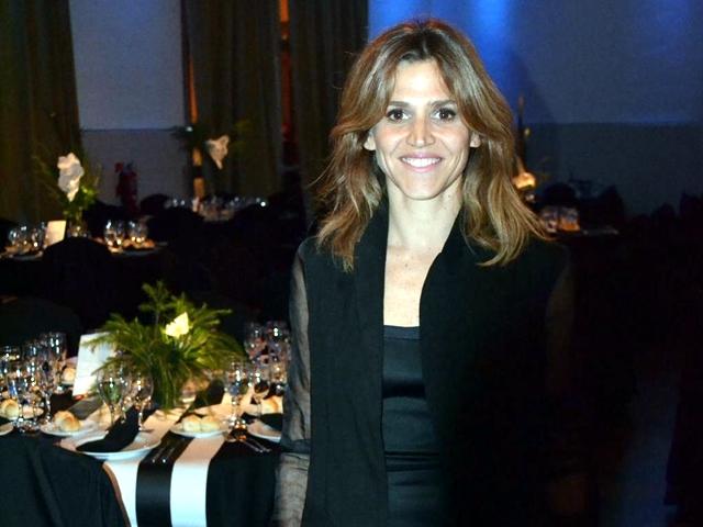 Maria Freytes en la cena solidaria Fundación Nordelta 2014