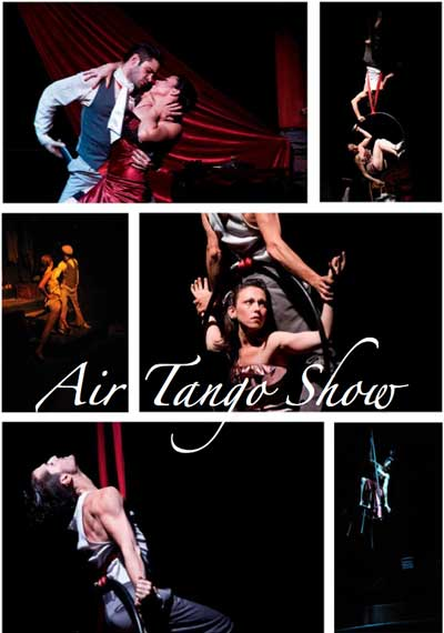 Contratar show de Tango aereo