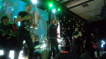 Gonzalito, Ariel Puchetta y Dj Yayo en cumple de XV en Costa Galana