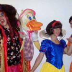 Blancanieves y Aladino en el pais de los sueños