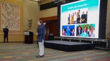 Carlos Burgueño, conferencia en el Sheraton de Mar del Plata