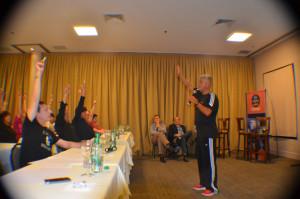 Enrique Nardone conferencia para Zurich y Hope Funds en Cataratas
