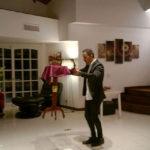 Gastón Quieto, evento social en Pilar