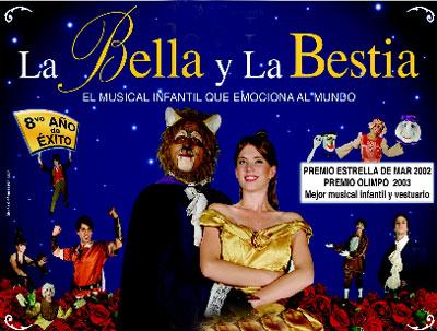Contratar a la Bella y la Bestia