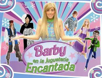 Contratar a Barby en la Jugueteria Encantada