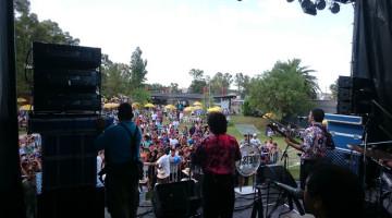Los Palmeras y Cumbia Cool en el Día del gremio UOETSYLRA