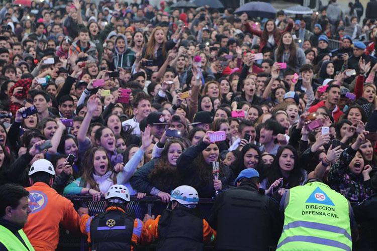 Márama en el festejo del día del estudiante y de la primavera en La Matanza