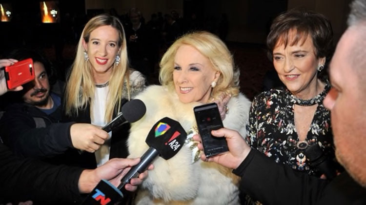 Mirtha Legrand - Premios Fund TV