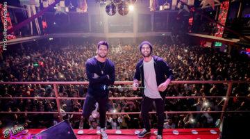 Lucas Velasco y Nicolás Furtado en Show Kolor, Jujuy