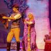 show infantil de rapunzel