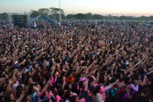 Rombai en la Fiesta de la Primavera de Resistencia, Chaco