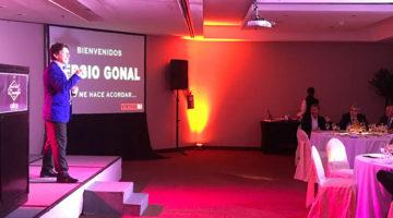 Sergio Gonal en la Fiesta de Fin de Año de CAFCCo