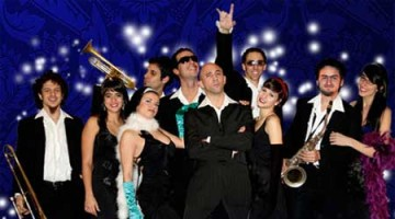 Contratar a The Groovers, Glamour Band