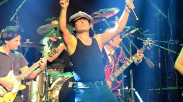 Thunderstruck, tributo a AC/DC
