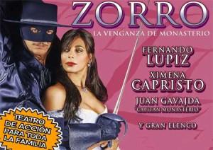 Contratar Zorro, la Venganza de Monasterio