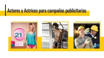 contratar actores para publicidad