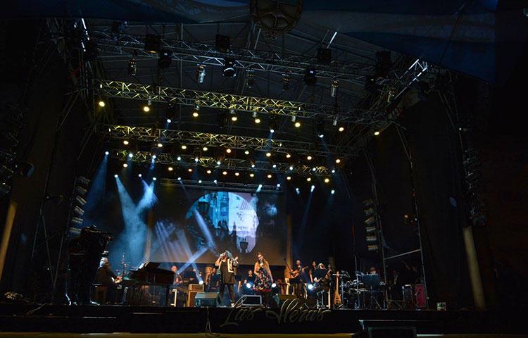 Contratar artistas para festivales nacionales