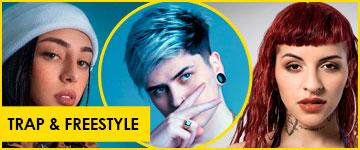 Contratar artistas de Trap y Freestyle