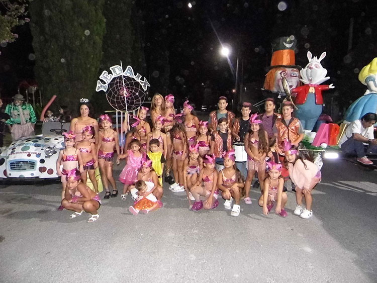 Contratar artistas para carnavales
