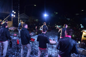 Contratar artistas para eventos municipales