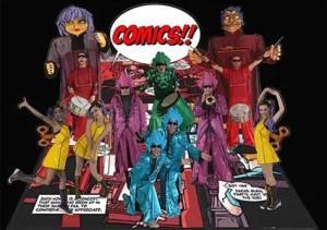 Contratar Batucada Comics
