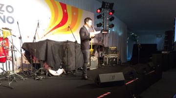 Chino Leunis y La Mosca en la fiesta de Shell